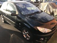 Peugeot 206 3dr 2.0 hdi sport 45k and good mot