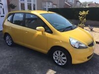 Honda jazz 1.2 SE 5Dr. Full service history, drives as new, in fantastic Helios yellow pearlpaint