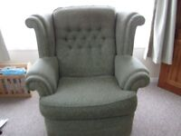 Two seater sofa plus arm chair