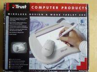 Brand new Trust Wireless Design & Work Tablet 200 only £15