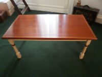 Coffee table professionally restored.