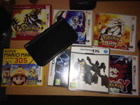 Nintendo *New* 3DSXL and 7 Games and Charger