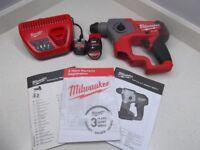 Brand New Milwaukee Fuel Compact 12v SDS Drill