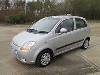 2007**Chevrolet Matiz 1.0 SE 5dr**1 YEAR MOT**FULL SERVICE!