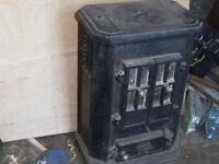 Smallish solid fuel burner