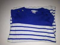Jojo Maman Bebe maternity Breton stripe jumper