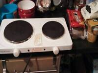 Twin hot plate