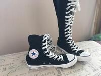 Converse high leg boot size 5