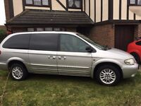 Chrysler Grand Voyager 2004 2.5CRD 1 Owner, Full Service History, 93k Miles Excellent Condition