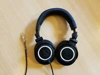 Audio Technica ATH-M50 Studio Monitor Headphones