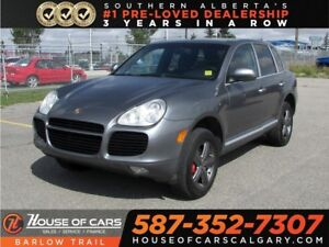 2004 Porsche Cayenne Turbo / Leather / Navi / Back up camera