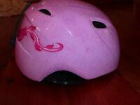 Girls Pink Giro Ski Helmet