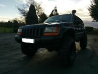 Jeep Grand Cherokee 4.0 Petrol Automatic LPG Ready for Off Road