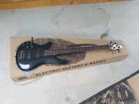 Left Handed Ibanez Bass guitar BOXED NEW Offers welcome