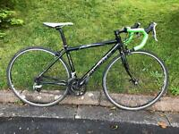 Small Road Bike. Raleigh Airlite 300. Tiagra. Carbon Forks