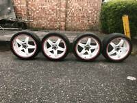 """18"""" Alloys and spacers"""