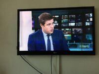 Flatscreen 43 inch Plasma TV