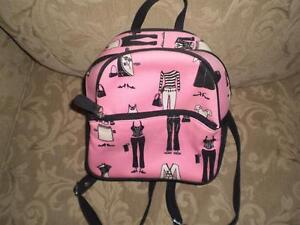 Pink & Black small backpack purse Kitchener / Waterloo Kitchener Area image 4