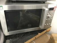 Quality stainless inside and out microwave oven with grill was £60 now £40