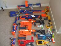 Large Selection of NERF guns - good condition