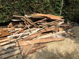 Assorted wood for use or bonfire