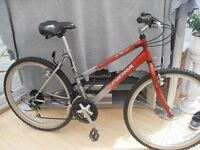 ADULT LADIES TUNDRA MOUNTAIN BIKE IN GOOD CONDITION