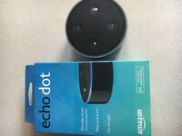 Amazon echo dot boxed