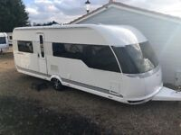 Hobby Caravan 560 Premium (2013) Single axle. Like Tabbert/Fendt