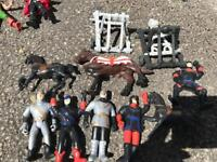 Knights and horses action figures