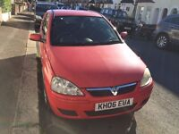Automatic Vauxhall Corsa 2006 for sale