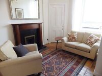 1 bedrrom fully furnished 1st floor flat to rent on Balcarres Street,Morningside,Edinburgh