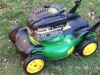 John Deere petrol mower