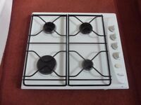 Whirlpool Gas Hob White 4 Burner £25