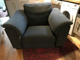 Armchair (Ikea Tidafors) great for cuddling!