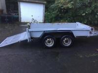 Indespenstion 8 x 4 plant trailer