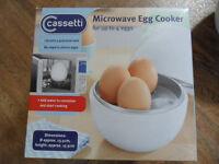Microwave egg cooker / Steamer / Boiler for 4 Eggs New in Box - Pokesdown BH5 2AB