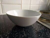 White china Bowls-2