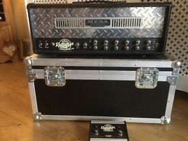 Mesa Boogie Single Rectifier 50W Head Series 2 with Flight Case