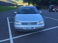 Volkswagen Golf gttdi Turbo Diesel 1.9cc 130bhp 6 speed 3 door h/back 02/2002 2 former keepers 200k