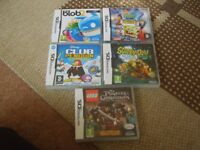 Nintendo ds games £5 each or £20 the lot no offers