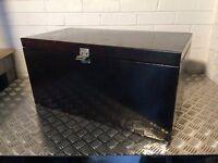 Heavy Duty Black tool storage box