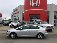 2012 Honda Civic LX - Extended Warranty! New Tires and Front Bra