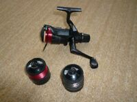 Shimano Match III Reel with 2 spare spools (Japan made)