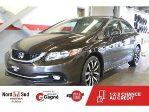 2013 Honda Civic Sedan Touring 5AT *CUIR*NAVIGATION*TOIT OUVRANT