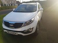 Kia Sportage 2 CRDI, White, July 2013