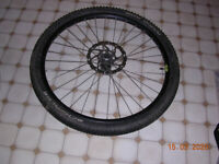 Front Wheel 27.5 with 180mm shimano disc. Near to Travel Lodge