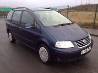 2005 Volkswagen SHARAN 1.9 tdi , mot - June 2017 , service history , galaxy,focus,astra,scenic