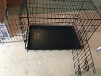 large pet cage or carrier