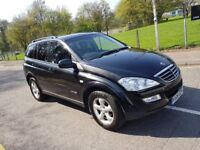 2008 SSANGYONG KYRON 2.0D AUTO DIESEL AUTOMATIC LEATHER 4X4 TOWBAR COLD A/C