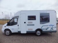 Lunar Pinnacle GT Low Profile Two Berth Motorhome For Sale ONLY 8,500 MILES